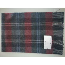 Bufanda de cachemira escocesa de cachemir de bufanda de cachemira escocesa cepillada