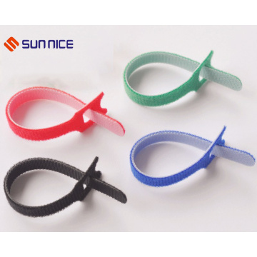 Hook and Loop Adjustable Strap for Cable Tie