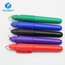 Marcador permanente mini multi del color al por mayor barato con el casquillo del anillo