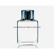 Perfume de material reciclado de la venta caliente con la botella de cristal