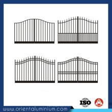 Conception de porte carrée en aluminium