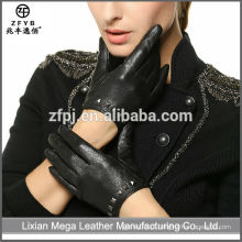 Hot-Selling de alta qualidade de baixo preço luvas de vestido longo luvas de couro