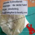99,5% Pureté Agent anesthésique local Clorhydrate de lidocaïne Lidocaïne HCl 73-78-9