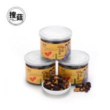 Snacks bajos en calorías y alta nutrición setas de China