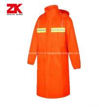 vêtements de travail professionnels réfléchissants de sécurité imperméable pas cher