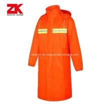 billige reflektierende Regenmantel Sicherheit professionelle Arbeitskleidung