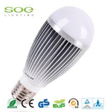 12W Aluminiumrahmen innerhalb LED-Birnen-Licht