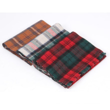 suaves y suaves bufandas de alpaca tejidas de doble cara