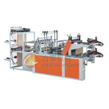 Controle de computador de alta velocidade Vest Rolling Bag-Making Machine (linhas duplas)