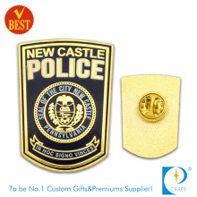 The City Police Badge in Gold Plating From China