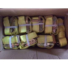 GS Certificates Polyester 50MM/5000KGS Ratchet Lashing Belt