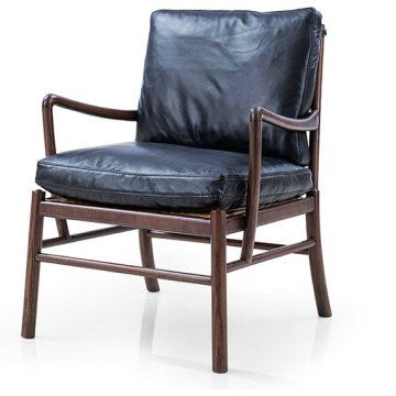 Modern Classic Wanscher OW149 Poltrona lounge in stile coloniale