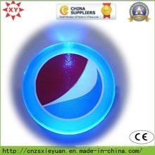 Benutzerdefiniertes Logo LED blinkt Pin Abzeichen