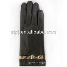 Newest fashion sheepskin leather women leather Gloves