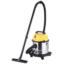 Upright vacuum cleaner for wet and dry use