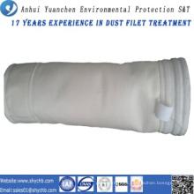 Bolsa de filtro de polvo de acrílico para la planta de energía de carbón con muestra gratis