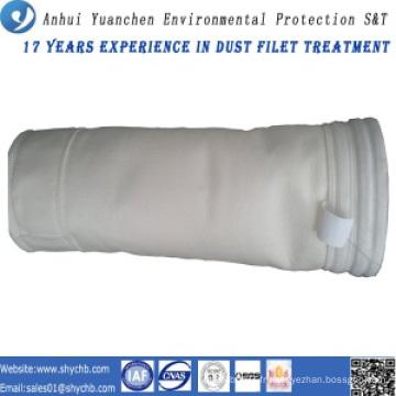 Sac de filtre acrylique non-tissé de collecteur de poussière pour l'usine d'asphalte