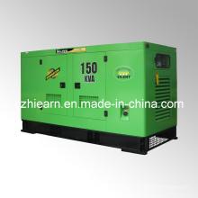 Tipo silencioso de generador diesel refrigerado por agua (GF2-150kVA)