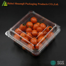 Blister plastic fruit packaging box