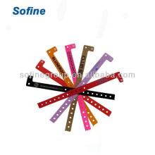 Одноразовые браслеты для наручных и наручных ювелирных изделий, браслеты из винила
