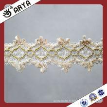 Habillement Bracelet blanc décoratif Gimp Accessoires en dentelle Textiles