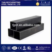 SS400 Q235 ST37 welded steel pipe carbon square steel pipe / tube