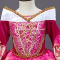 2016 девушки длинные наряды Спящая красавица Аврора платье принцессы костюм