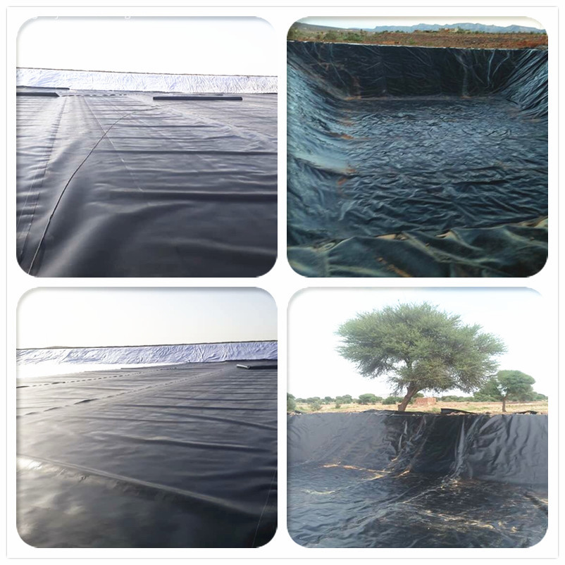 HDPE liner for gold mining