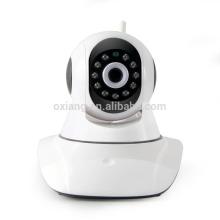 Câmera do IP do wifi do zumbido do zumbido da inclinação da visão nocturna de 720P HD mini para o sistema da segurança interna