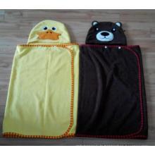 (BC-KB1009) Hot-Sell Microfibre Kids Cute Bathrobe