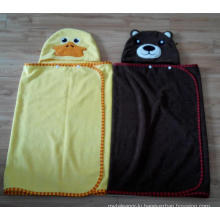 (BC-KB1009) Hot-Sell Microfibre Kids Cute Bathrobe