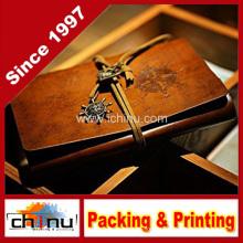 PU кожаный блокнот для дневника, журнала перемещения и внимание (520064)