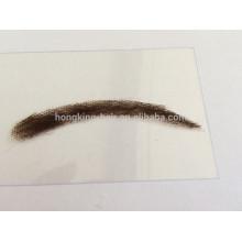 Sobrancelhas falsas do cabelo humano de 100% NENHUM MOQ
