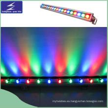 18W AC220V LED de lavado de la pared de luz Lineal Stage Lighting
