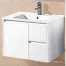 Sanitary Ware White Gloss MDF Wall Mounted Bathroom Cabinet (UV8027-750W)