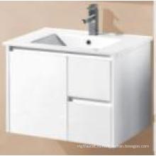 Сантехнические изделия Белый глянец MDF настенный шкаф для ванной комнаты (UV8027-750W)