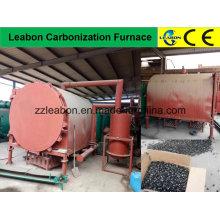 Horno de carbonización de registro / briquetas de tecnología avanzada