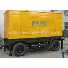 china generator yuchai engine 500kw mobile generator set with truck mounted