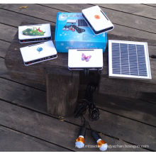 Solar Power Supply LED Lighting Kits System for Poor Electricity Area