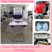 1200 SPM High Speed Single Head Computer Embroidery Machine