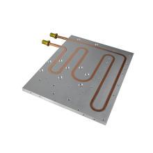 Aluminum alloy power battery liquid cooling system