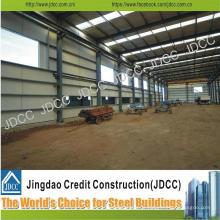 Entrepôt préfabriqué léger de structure en acier de montée élevée