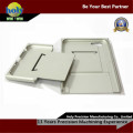 o alumínio do CNC do escudo do iPhone parte as peças anodizadas prata do CNC