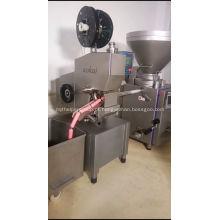 máquina de grampeamento duplo de salsicha