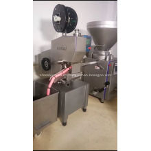 máquina de recorte doble salchicha