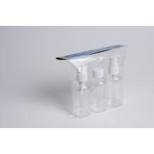 3PCS 75ml garrafa de viagem conjunto com pulverizador (EF-TK02)