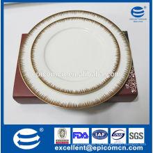 Haushalt Küchenutensilien Porzellan Lieferanten Luxus Knochen Porzellan Geschirr Set