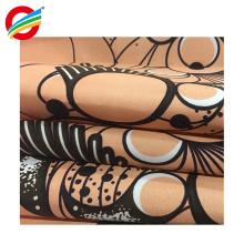 tela de impresión real de cera auténtica africana colorida resistente al desgarro