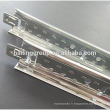 Métal / aluminium / acier T-Grilles de plafond