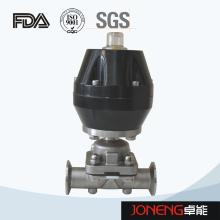 Vanne de diaphragme pneumatique à haute pureté en acier inoxydable (JN-DV1005)